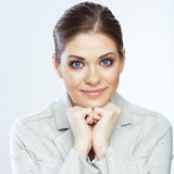 Portrait of smiling business woman,  Stock Image