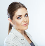 Portrait of smiling business woman,  Royalty Free Stock Image
