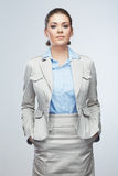 Portrait of smiling business woman,  Royalty Free Stock Images