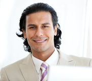 Portrait of a smiling businessman Royalty Free Stock Images