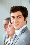 Portrait of smiling businessman Stock Photography