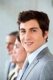 Portrait of smiling businessman Stock Photography