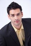 Portrait of smiling businessman Stock Image