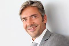 Portrait of smiling businessman Royalty Free Stock Photos
