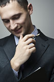 Portrait of smiling businessman Royalty Free Stock Image