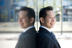 Portrait of a smiling businessman Royalty Free Stock Photography