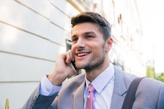 Portrait of a smiling businessman Royalty Free Stock Photo