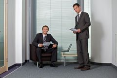 Portrait of smiling businessmen Royalty Free Stock Images