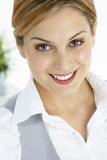 Portrait Of Smiling Businesswoman Royalty Free Stock Photos