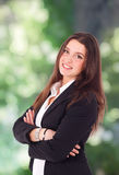 Portrait of a smiling businesswoman Royalty Free Stock Images