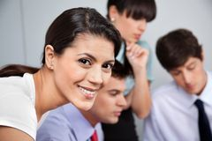Portrait of Smiling Businesswoman Royalty Free Stock Photography