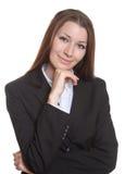 Portrait of a smiling businesswoman Stock Photos