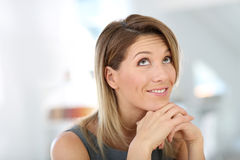 Portrait of smiling businesswoman Royalty Free Stock Images