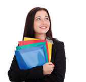Portrait of  smiling businesswoman Stock Photography