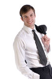 Portrait smiling busnessman Stock Image