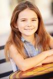 Portrait Of Smiling Caucasian Girl Royalty Free Stock Photos