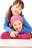 Portrait of smiling children Stock Images