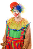 Portrait of a smiling clown Royalty Free Stock Photos
