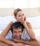 Portrait of a smiling couple Royalty Free Stock Photography