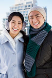 Portrait of smiling couple Royalty Free Stock Photos
