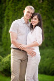 Portrait of smiling couple Royalty Free Stock Photography