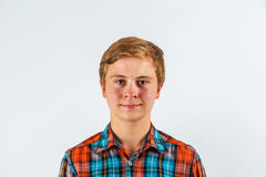 Portrait of smiling cute boy Stock Image