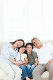 Portrait of a smiling family Royalty Free Stock Photos