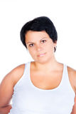 Fat woman Royalty Free Stock Images