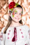 Portrait of smiling girl royalty free stock photography