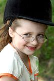 Portrait of a smiling girl Royalty Free Stock Photos