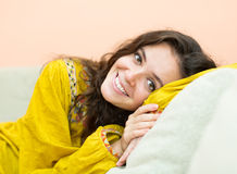 Portrait of smiling  girl Royalty Free Stock Images