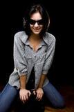 Portrait of smiling girl Stock Image