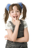 Portrait smiling girl Royalty Free Stock Photography