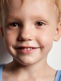 Portrait of smiling happy boy Royalty Free Stock Photo