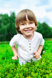 Portrait of smiling happy boy royalty free stock images