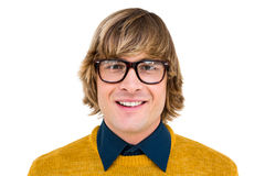 Portrait of smiling hipster businessman Royalty Free Stock Photo