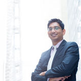 Portrait of smiling Indian businessman Royalty Free Stock Image