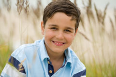 Portrait of smiling kid Royalty Free Stock Image