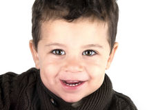 Portrait of a smiling little boy Stock Photo