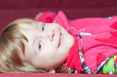 Portrait of a smiling little girl Royalty Free Stock Photo