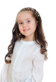 Portrait of smiling little girl. Royalty Free Stock Photos