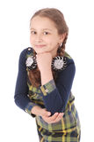 Portrait smiling little girl Royalty Free Stock Photography