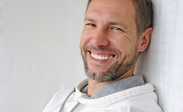 Portrait of smiling man Stock Images
