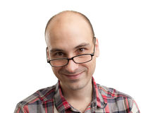 Portrait of smiling man Royalty Free Stock Images