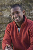 Portrait of smiling man royalty free stock photography