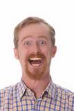 Portrait of smiling man Stock Photo