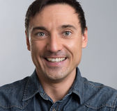 Portrait of a smiling man Stock Images