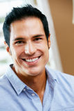 Portrait Of Smiling Man At Home Royalty Free Stock Photo