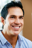 Portrait Of Smiling Man At Home Royalty Free Stock Photography