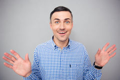 Portrait of a smiling man looking at camera Stock Photo